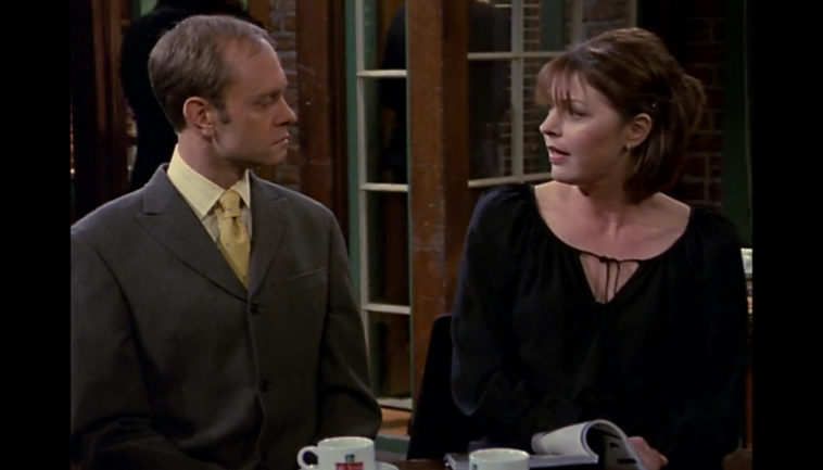 Dr. Niles Crane and Daphne Moon