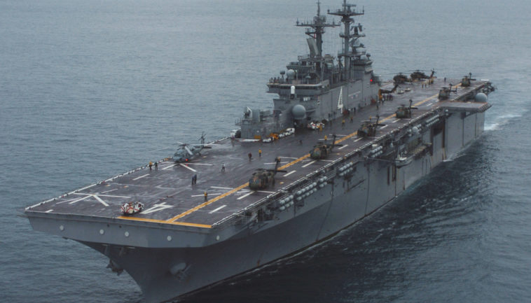 Helicopter carrier