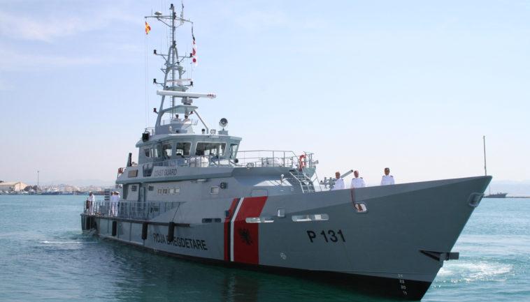 Large patrol vessel