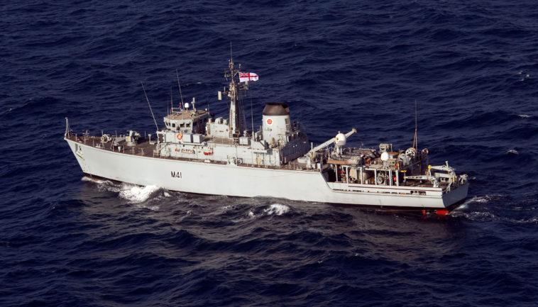 Mine countermeasures vessel