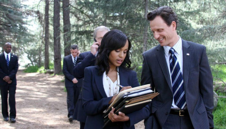 Olivia Pope and President Fitzgerald Grant