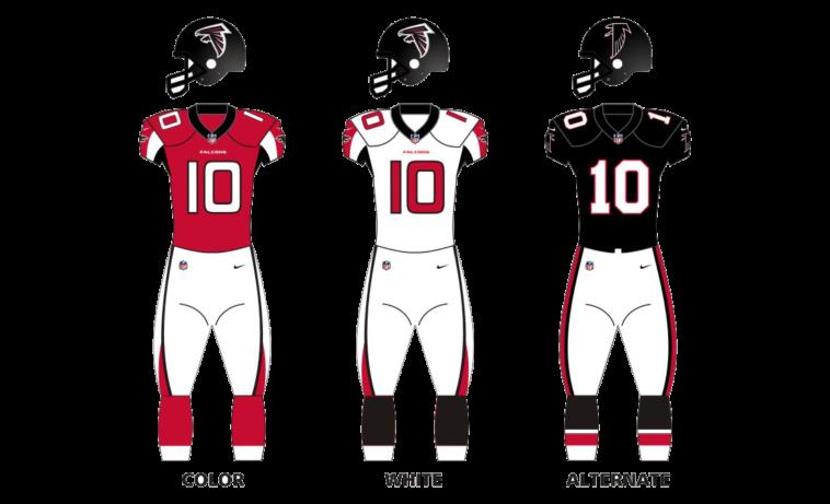 Atlanta Falcons Uniforms