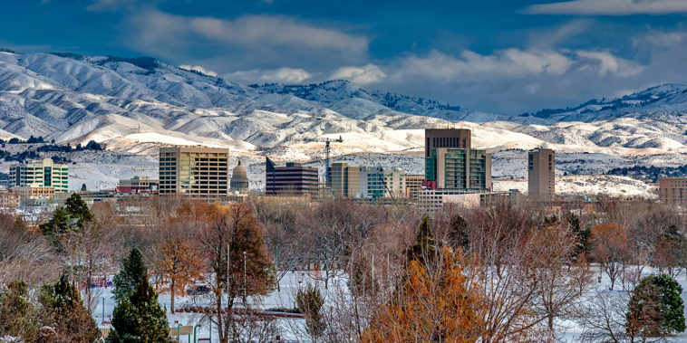 City_of_Boise_Idaho_Winter