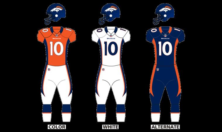 Denver Broncos Uniforms