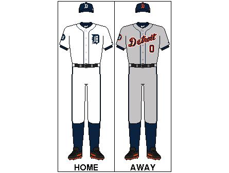Detroit Tigers Uniform