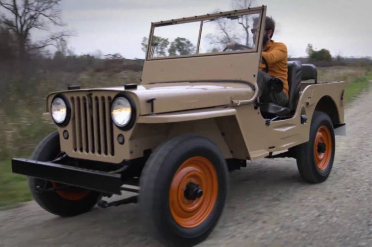 1949 Willys CJ-2A(2016 Fiat Chrysler Automobiles (FCA))