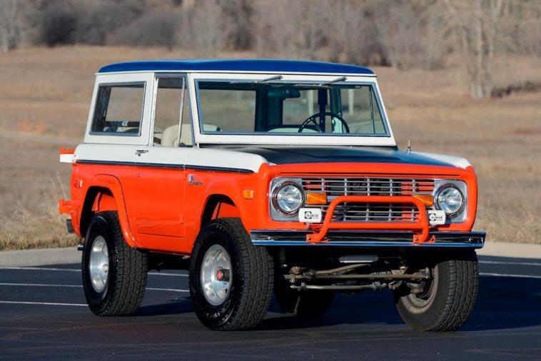 1975 Ford Baja Bronco(mecum)