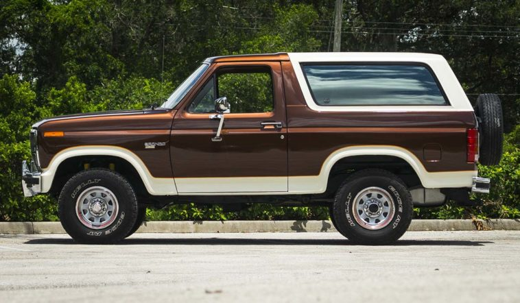 1980 Ford Bronco(Hagerty)