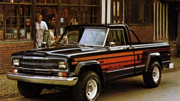 1987 Jeep Gladiator and J-Series trucks