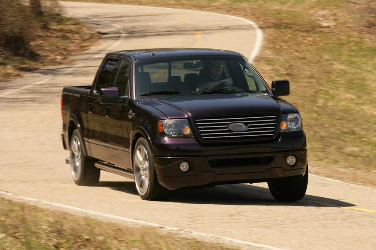 2007 Ford F-150 Harley-Davidson Supercharged(Top Speed)