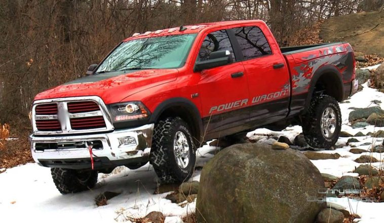 2014 Dodge Power Wagon(FCA North America)