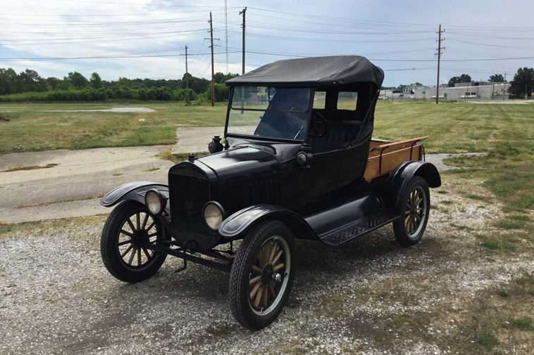 Ford Model T Runabout Pickup(Rm Sothebys)